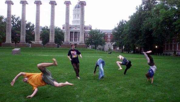 Francis Quad at University of Missouri-Columbia in