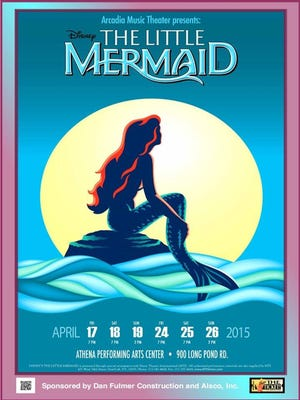 Greece Arcadia's production of Disney's The Little Mermaid premieres on April 16.