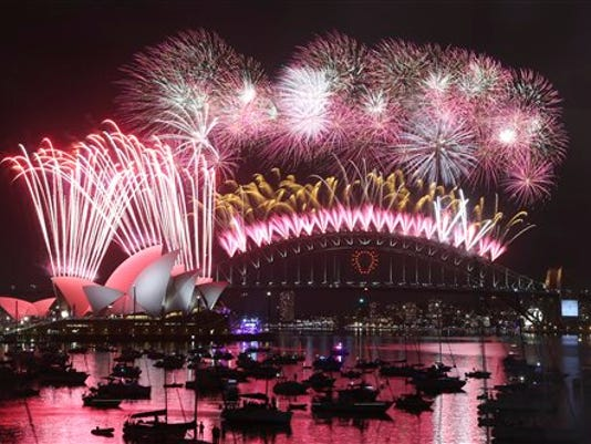 APTOPIX Australia New Years Eve