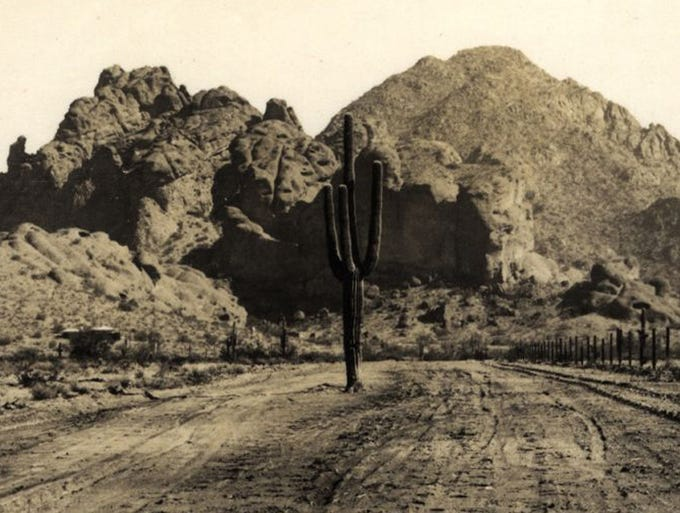 THEN: In 1879, the federal government declared the Camelback Mountain area an Indian reservation. Less than a year later, after protests by Phoenix residents, it reverted to local control. Soon after, construction of the Arizona Canal began. By the 1960s, most of the land was in private hands and homes were being built into the mountainside. A land exchange in 1968 prevented further development on the slopes.