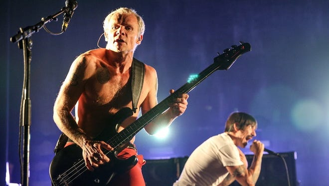 The Red Hot Chili Peppers will perform May 18 in Indianapolis.
