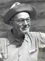 Randall Henderson as a desert explorer and publisher