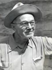 Randall Henderson as a desert explorer and publisher