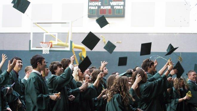 Regis High School graduation.