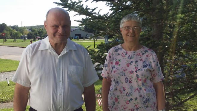 As Granton's 2015 Honored Citizens, Betty Mellon and Wayne Garbisch will lead the 65th Granton Fall Festival parade on Sunday.