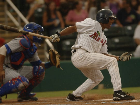 Ben Revere, center field for the Fort Myers Miracle,