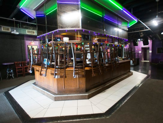 The third-floor bar inside Bedlam is pictured on Monday,