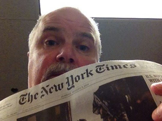 Green Bay reporter Scott Cooper Williams takes a look inside the New York Times.
