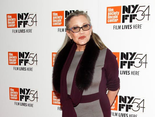 "AP 2016 NYFF - ""BRIGHT LIGHTS: STARRING CARRIE FISHER AND DEBBIE REYNOLDS"" SCREENING A ENT USA NY"