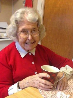 Hilda Joyce Hoffman of Vineland will celebrate her 100th birthday.