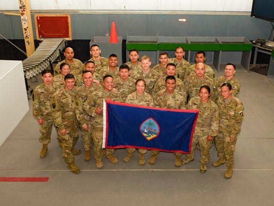 Soldiers assigned to the 368th Military Police Company,