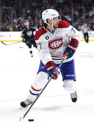 Defenseman Tom Gilbert, who signed with the Canadiens as a free agent last summer, is due to make $2.8 million in 2015-16.