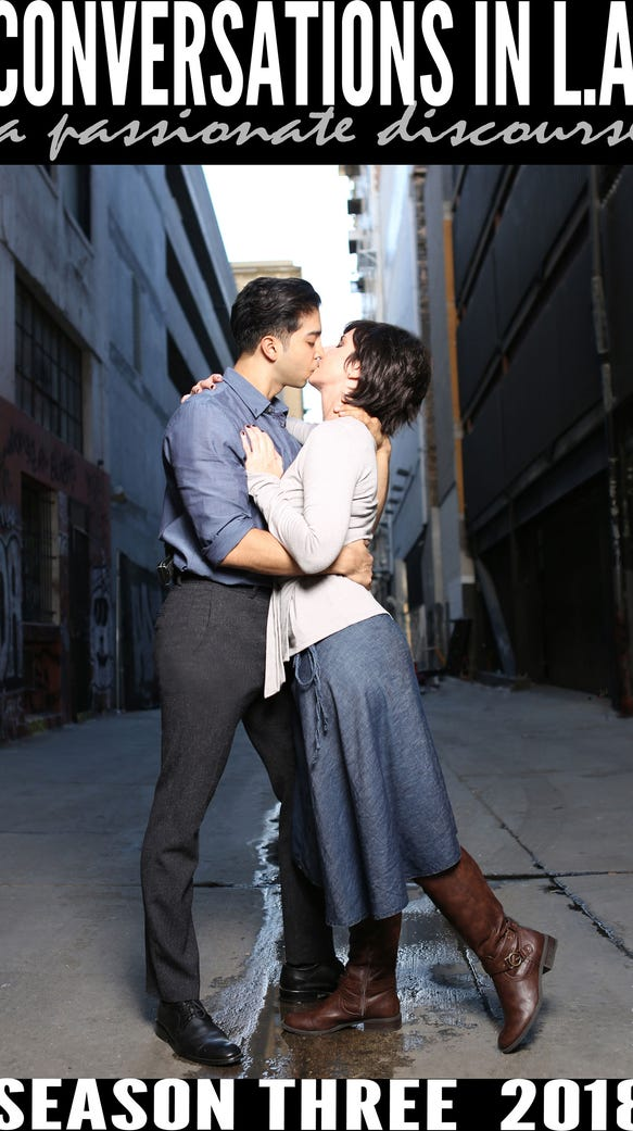 Anne Marie Cummings and Gustavo Velasquez star in 'Conversations