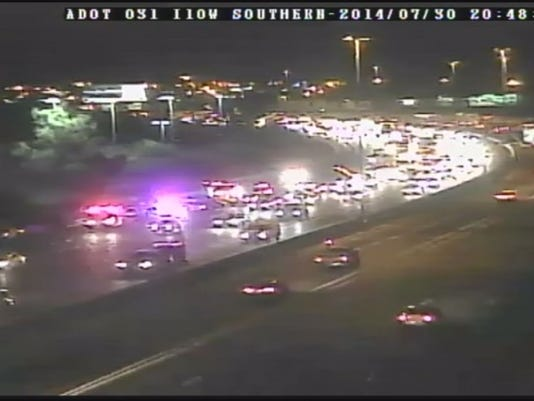 ADOT: I-10 wreck in SE Valley slowing traffic