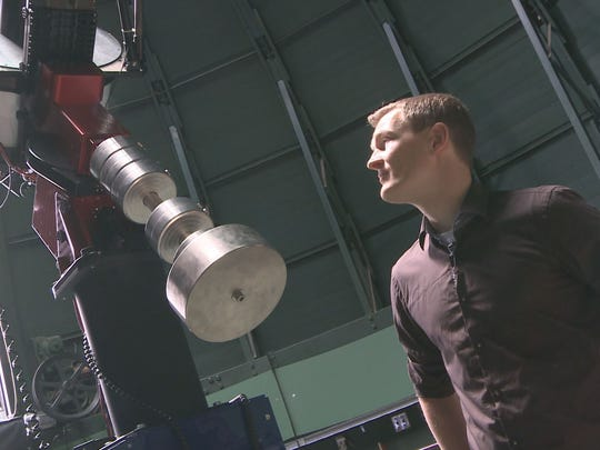 Michael Mommert, a post-doctoral researcher at Northern Arizona University, is helping NASA find an asteroid for its Asteroid Redirect Mission.
