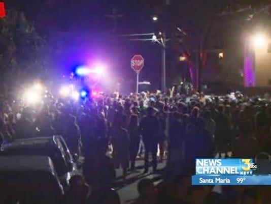AP College Party Arrests