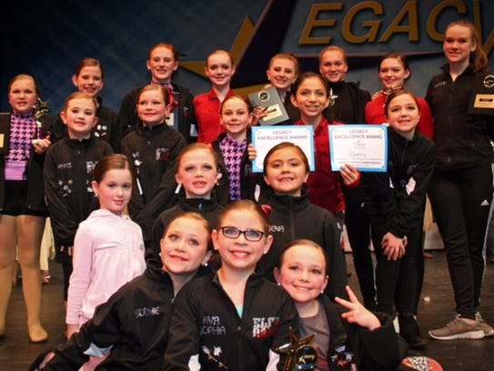 Eltie Dance Center dancers recently competed at the
