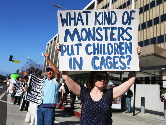 Activists In L.A. Protest Separation Of Migrant Children From Families