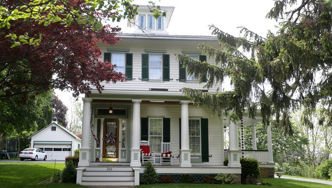 The Stanton's  historic family mansion on South Main Street in Fairport.