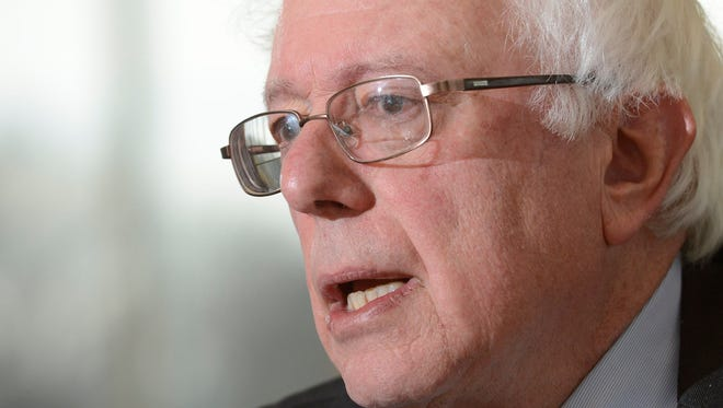 Sen. Bernie Sanders said Wednesday he's seeking the Democratic nomination for the presidency with the intention of winning the race.