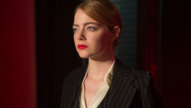 """In """"La La Land,"""" Emma Stone sings, dances and acts, and does all three well."""