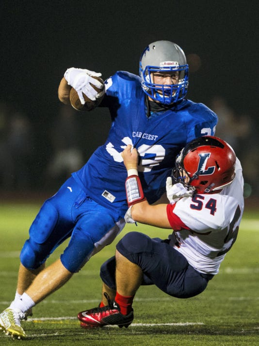 With two more wins, Evan Horn and his Cedar Crest teammates could find themselves in the District Three Class AAAA playoffs.