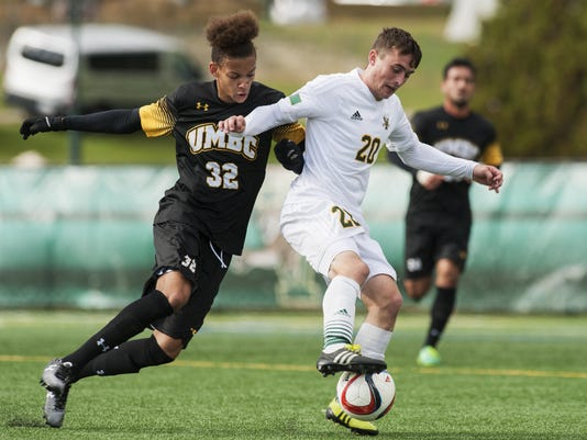 UMBC vs. Vermont Men's Soccer 10/14/15