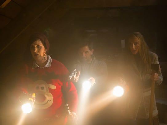Linda (Allison Tolman), Tom (Adam Scott) and Sarah