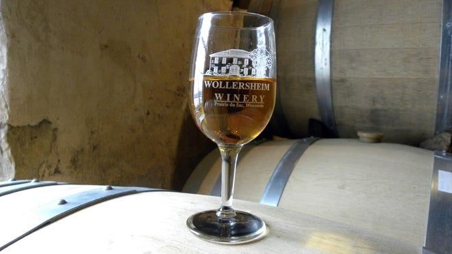 Wollersheim Winery's Coquard brandy.