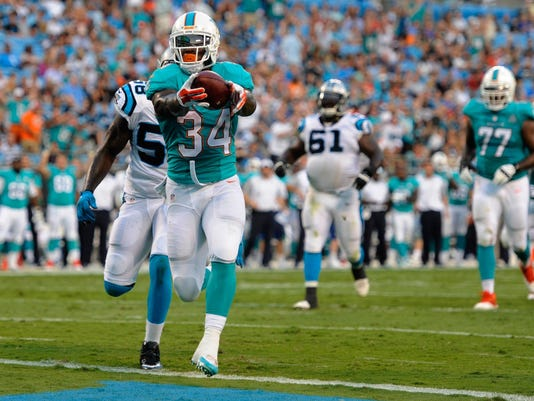 NFL: Preseason-Miami Dolphins at Carolina Panthers