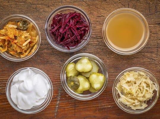 fermented food sampler