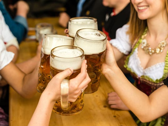 The Oktoberfest tradition began in 1810