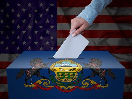 Ballot Box - Election - Pennsylvania, USA