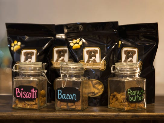 Home-made dog treats K-9 Confections from Paws Pets