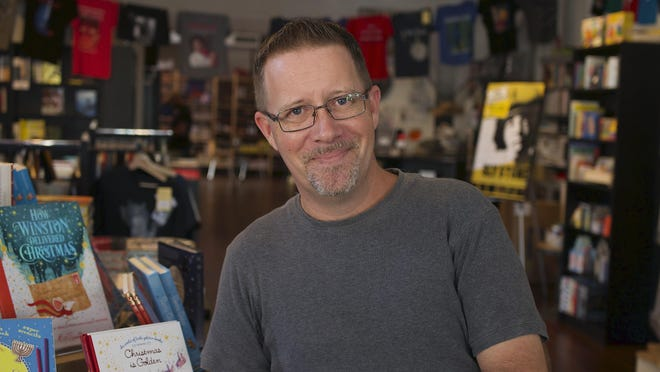 Book Cellar manager Todd Ketcham is a recent recipient of the inaugural Nancy Olson Bookseller Award, which recognizes booksellers for their support of writers, colleagues and community outreach.