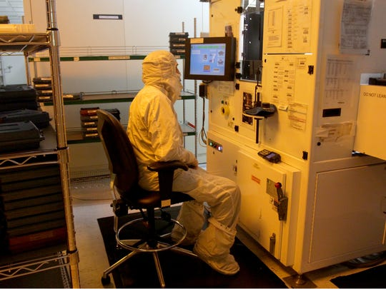 The sophisticated tools used to fabricate semiconductors