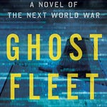 Book cover of 'Ghost Fleet' by P.W. Singer and August Cole.