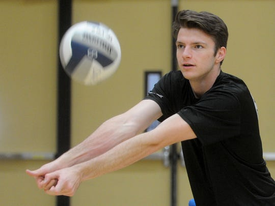 Adam Parks of Oak Park is the Coastal Canyon League's Player of the Year for boys volleyball.