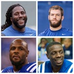 Colts' free agents and contract status