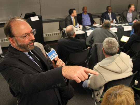 Investigations Director Paul D'Ambrosio moderates the