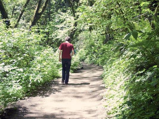 walking in Portland