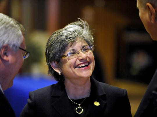 There has been much recent change in the coaching and administration levels recently at Montana State. Pictured is MSU president Dr. Waded Cruzado.