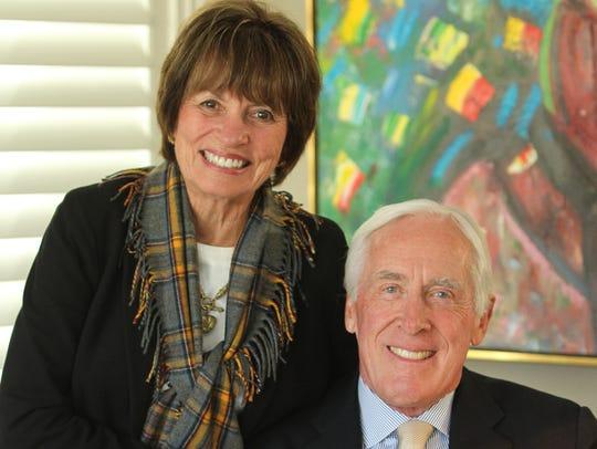 Judi and Peter Dawkins