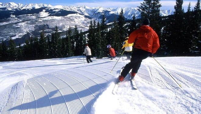 Vail Mountain in Colorado is pictured.