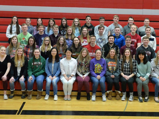 Manitowoc Lutheran High School music students recently
