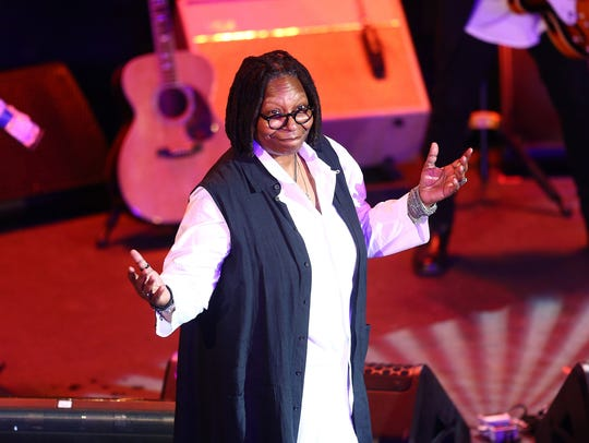 Comedian  Whoopi Goldberg hosted the 10th Anniversary