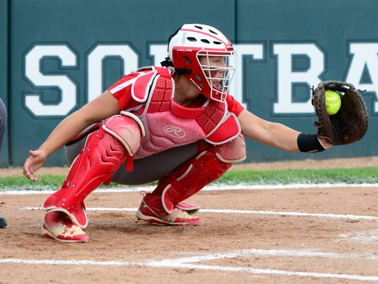 Oak Harbor catcher Maddy Rathbun was a first-team selection