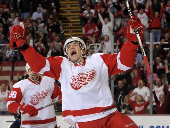 Red Wings center Pavel Datsyuk won two Stanley Cups