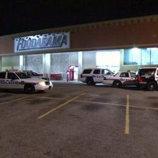 It was just before 2 a.m. when the alarm at the Foodarama on Ella at W. TC Jester went off.