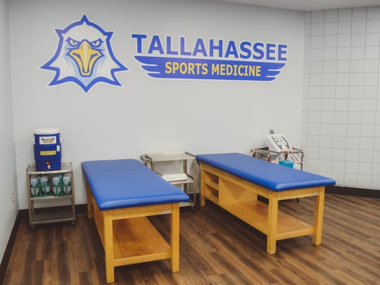 TCC's new athletic training room cost about $100,000